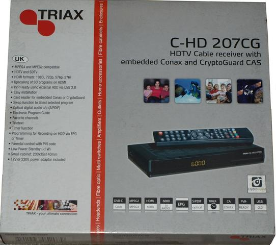 Triax DVB-C Tuner C-HD 207 CX med B&O Kit