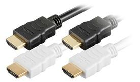 HDMI kabel, 2 meter - Sort