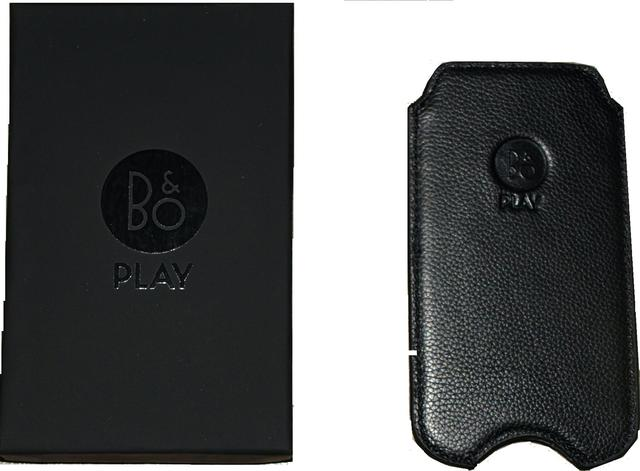 Bang & Olufsen-B&O-Cover til Iphone model, sort 4-4S-5-5C og 5S